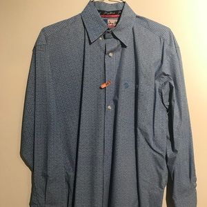 George Strait By Wrangler Button-down